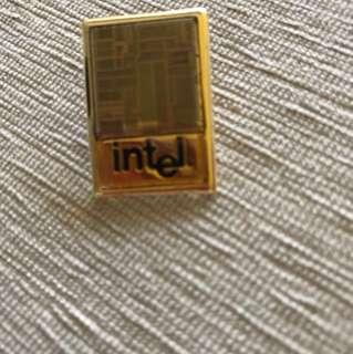 Intel First pentium vintage medal