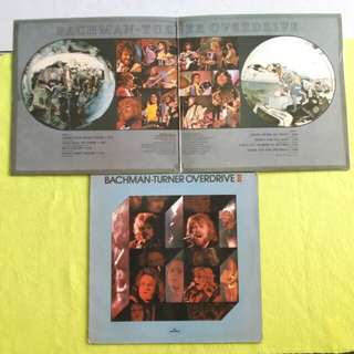 2LP. BACHMAN TURNER OVERDRIVE (BTO) bto/ll. (2 item 1 price) Vinyl record