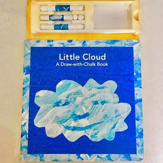 Eric Carle's Little Cloud A Draw-with-Chalk Board Book (with chalk)