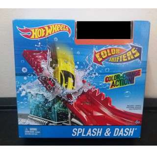 Hot Wheels Hotwheels Color Shifters Splash & Dash Track Set Without Car