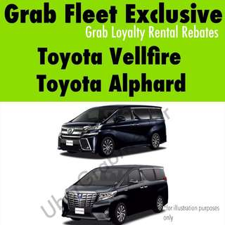 Toyota Vellfire/Alphard - Grab Fleet Exclusive
