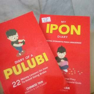 Diary of a Pulubi & My Ipon Diary (Signed)
