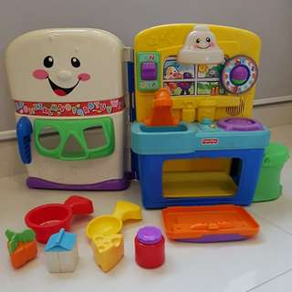 Little Kitchen for toddler (by Fisher Price)
