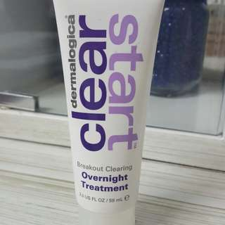dermatologica clear start breakout clearing overnight treatment