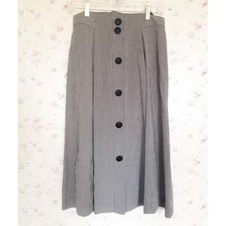 ✈️古著/Vintage✈️ 日本製細格氣質長裙