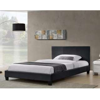Great Deal for Monica PU bed queen and 188 roller mattress. Brand New!