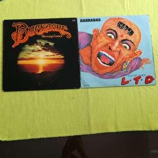 2LP. BARRABAS / BUCKACRE. ( buy 1 get 1 free ) Vinyl record