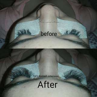 Tanam bulu mata eyelash extension