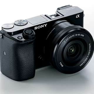 Kredir Dp 10% Sony Alpha A6000L 16-50mm - cicilan tanpa kartu kredit