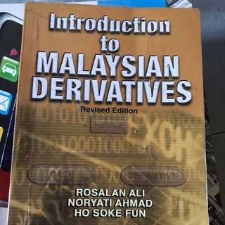Introduction to Malaysian Derivatives