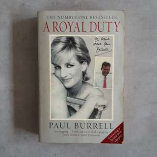 A Royal Duty by Paul Burrell, Steve Dennis