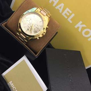 Authentic mk watch for her