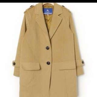 Burberry Blue Label毛呢大衣