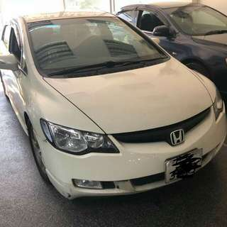 HONDA CIVIC FD 1.8(A) 2008 BODYKIT