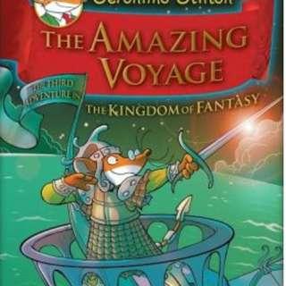 Geronimo Stilton Hardcover Series: The Amazing Voyage