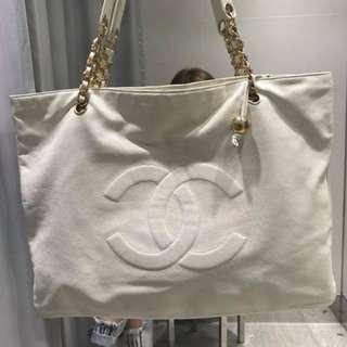 Chanel vintage white