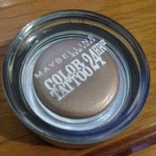 Maybelline color tattoo eyeshadow 24 jam murah preloved kosmetik mata