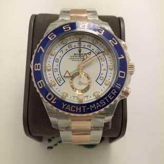 Rolex 116681 yacht master 44mm