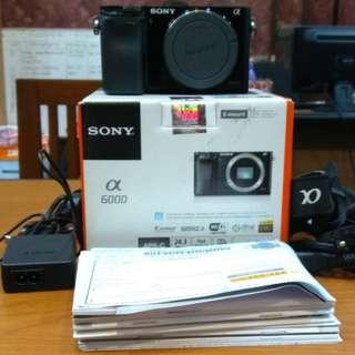 Kredit Dp 10% Sony Alpha A6000 Body Only - Cicilan tanpa kartu kredit