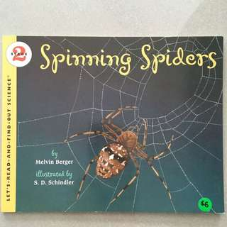 Spinning Spiders by HarperTrophy