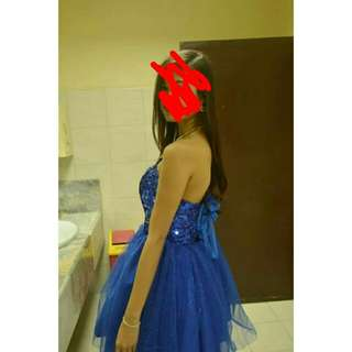 Blue Gown Php 300 for rent