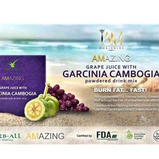 Amazing Grape Juice With Garcinia Cambogia Juice