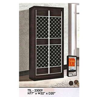perabot murah 2 door sliding wadrobe model - 23009