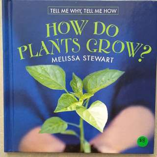 How Do Plants Grow? by Marshall Cavendish