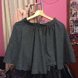 Polka skirt - Cloth inc (black)