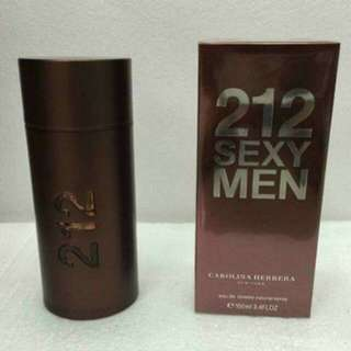 212 SEXY MEN TESTERS PERFUME