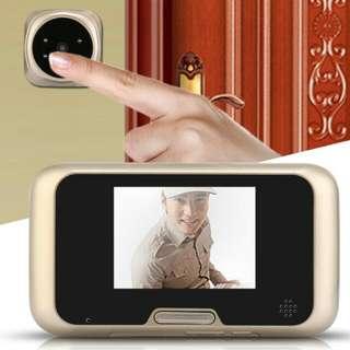 Peephole viewer door eye doorbell camera LCD