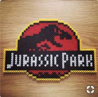 Jurassic Park Hama Bead Designs