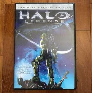 Halo: Legends DVD