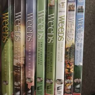 Weeds complete set 1-8