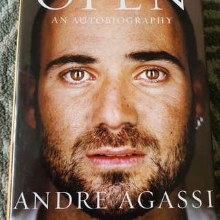 Preloved Open An Autobiography of Andre Agassi