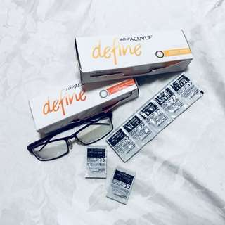 Acuvue Define 1 day lens