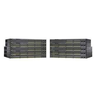 Cisco Switch Catalyst 2960-X 48 GigE PoE 740W, 4 x 1G SFP, LAN Base