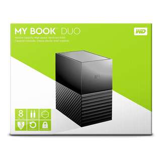 BNIB-Western Digital 8TB my book duo