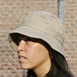 Camel Cotton Bucket Hat