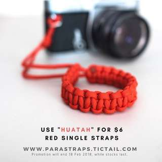 $6 Single Red Straps