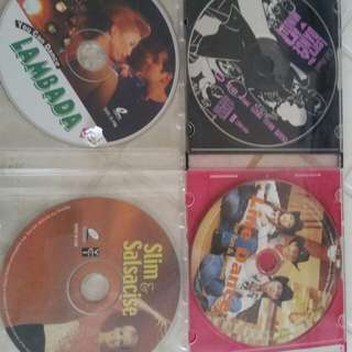 A set of 4 dancing VCDs