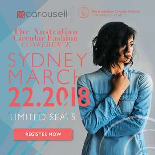 The Australian Circular Fashion Conference X Carousell | 2018