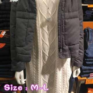 日系女裝前短後長連身冷衫