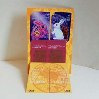 1995年,全新己兔年地鐵紀念票1套 (收藏品)
