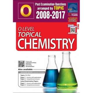 Science Chemistry O level Topical TYS