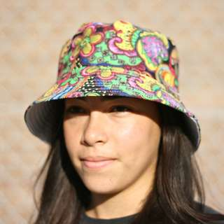 Psychedelic Bucket Hat - Free Delivery.