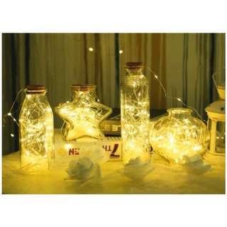 ✔️LED bottle light (heart /star)