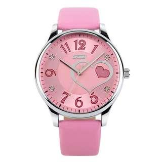 SKMEI Jam Tangan Analog Wanita - 9085CL - Baby Pink
