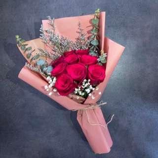 Valentine day flower