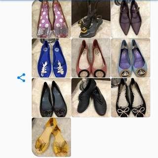 Mel Melissa Zaxy shoes flats